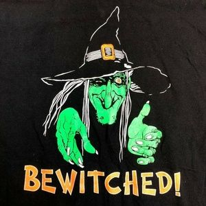 Vintage Bewitched Single Stitch T Shirt Halloween